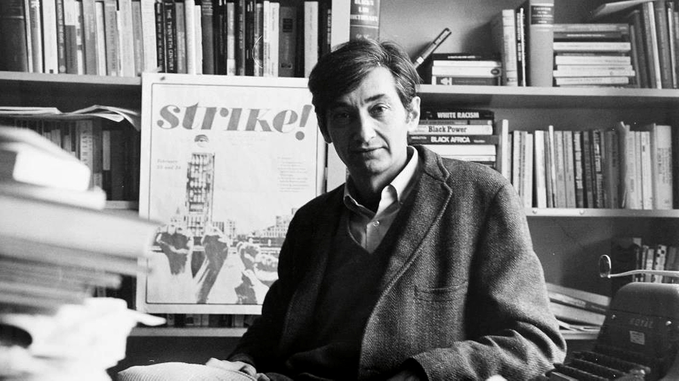 Howard Zinn • Photo by Ted Polumbaum • Date Unknown