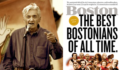The 100 Best Bostonians of All Time - Howard Zinn Website