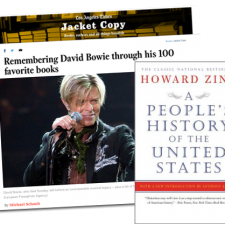 Remembering David Bowie through His 100 Favorite Books | Howard Zinn Website