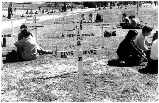 Commemoration of victims of Contra violence. 1987 | HowardZinn.org